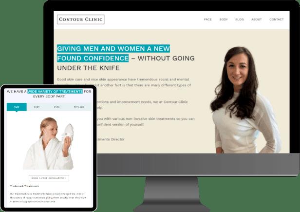 Contourclinic website